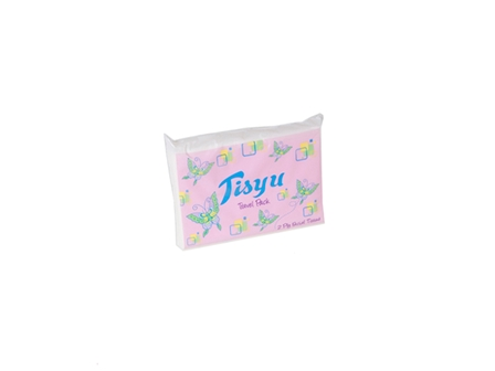 Tisyu Tissue Travel Pack 2-Ply 100Sheets