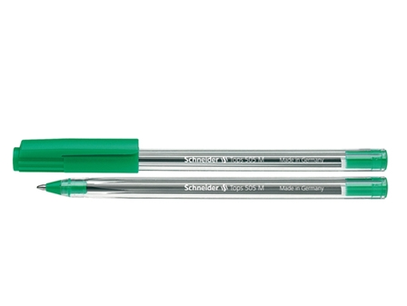 Schneider Ballpen Tops 505M #150604 Green Medium