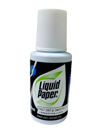 Liquid Paper Correction Fluid Multi-Purpose 204
