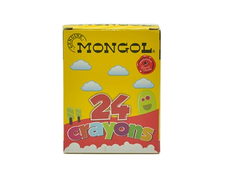 Mongol Crayon 24 Color 24/Box