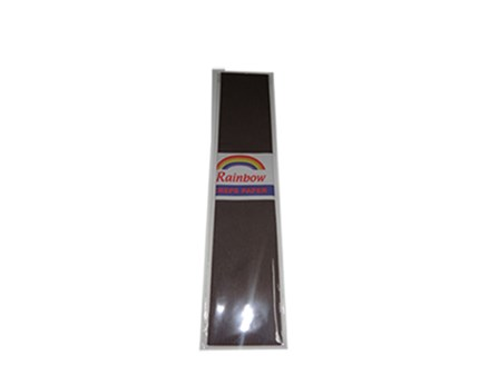 Crepe Paper Brown 500 x 2440