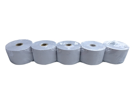 Henjoco Cash Register Roll 44 X 67mm Bond 5/pack 1 ply