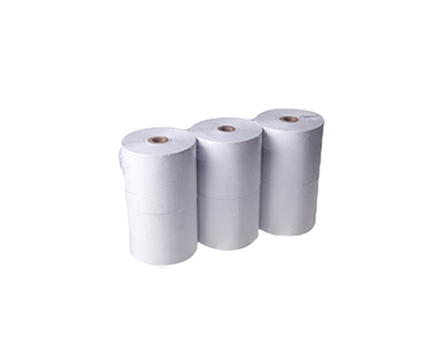 Henjoco Cash Register Roll 57 X 67mm Bond 6/pack 1 ply