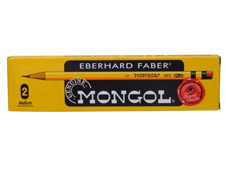 Mongol Pencil #2 Medium Yellow 12/pack