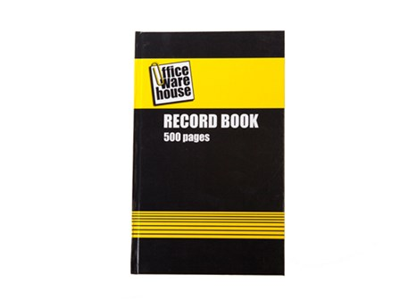 Office Warehouse Record Book 500 pages 7 x 11