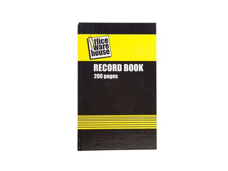 Office Warehouse Record Book 200 pages 7 x 11