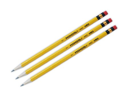 Mongol Pencil  #3 Yellow 3 pcs per pack