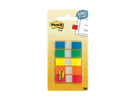 3M Post-it Flag 683-5CF 5 Colors 100 Flags 11 x 43mm