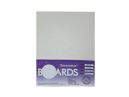 Sonoma Boards Parchment Paper 180gsm Letter 10s Natural