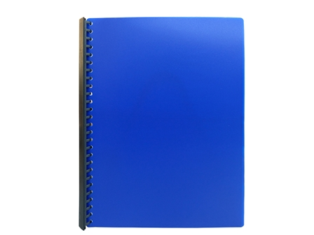 Jodric Clear Book Refillable RB2320 Blue A4 20pcs
