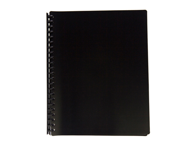 Jodric Clear Book Refillable RB2320 Black 23H  A4 20Sheets