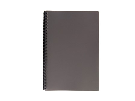 Clear Book Refillable 2720 Gray Legal 20pcs