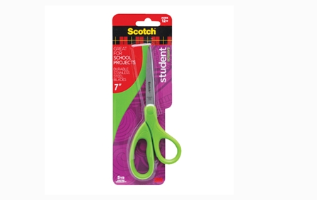 3M Scotch Scissors Student  Assorted 7