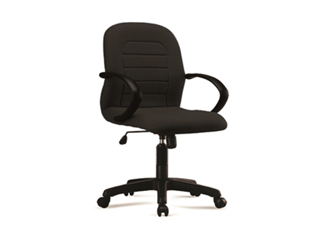 Executive Chair ER-03F-W Black