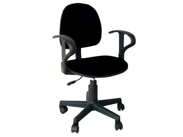Secretarial Chair STM-1005H-F Black