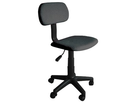 Secretarial Chair STM-1001W-F Black