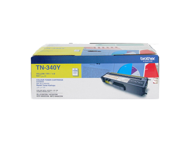 Brother Toner TN-340 Yellow
