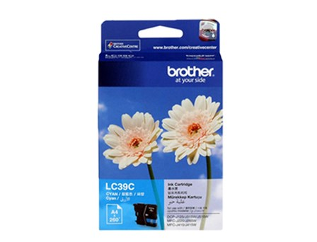 Brother Ink Cartridge LC-39 Cyan