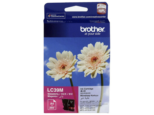 Brother Ink Cartridge LC-39 Magenta