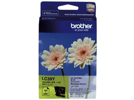 Brother Ink Cartridge LC-39 Yellow