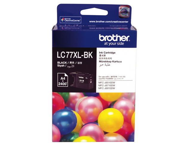 Brother Ink Cartridge LC-77XL Black