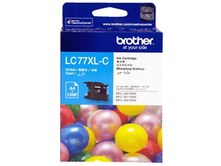 Brother Ink Cartridge LC-77XL Cyan
