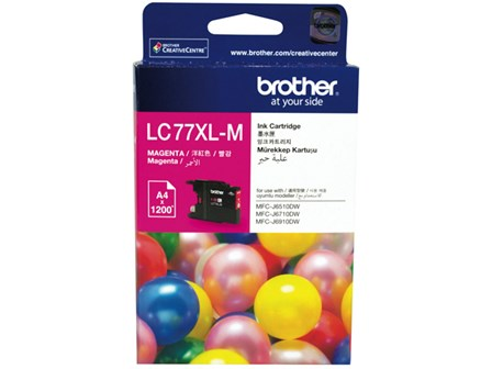 Brother Ink Cartridge LC-77XL Magenta