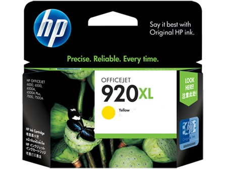 HP Ink Cartridge CD974 Yellow