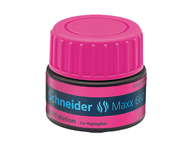 Schneider Max 660 Highlighter Refill Station Job 150 Pink