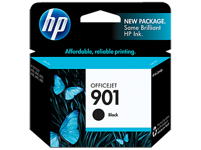 HP Ink Cartridge HP653A Black