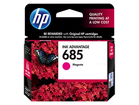 HP 685 Ink Cartridge HPCZ123AA Magenta