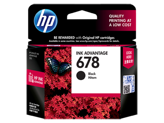 HP Ink Cartridge HPCZ107AA Black