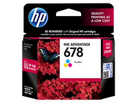 HP Ink Cartridge HPCZ108AA Colored