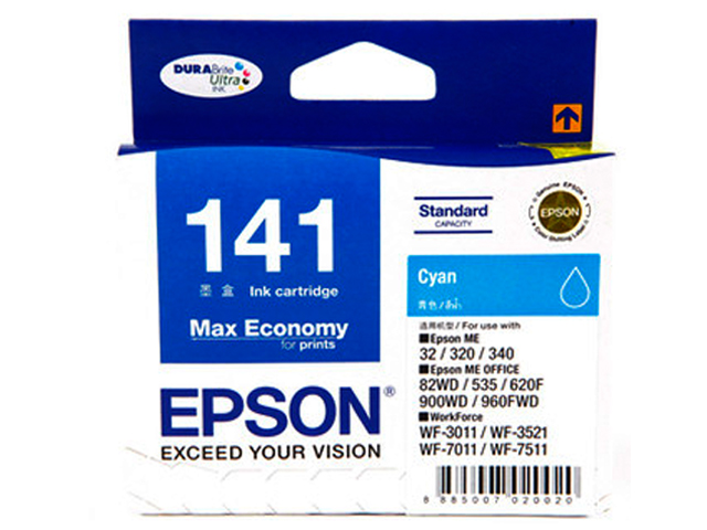 Epson Ink Cartridge T141290 Cyan