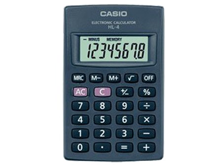 Casio Calculator HL4-W 8 Digits