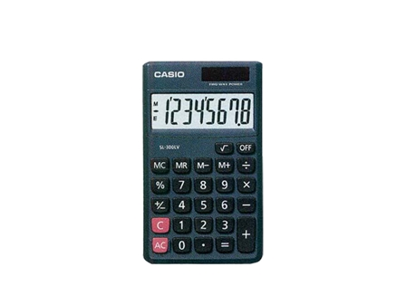 Casio Calculator SL300LE/LV-W 8 Digits
