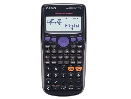 Casio Scientific Calculator  FX350ES Plus Black