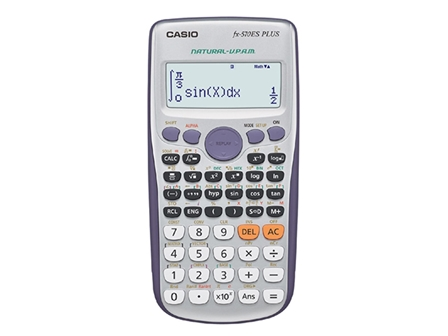 Casio Scientific Calculator FX570ES Plus Black/Silver