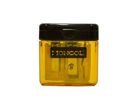 Mongol Sharpener Twin Yellow 2 Hole