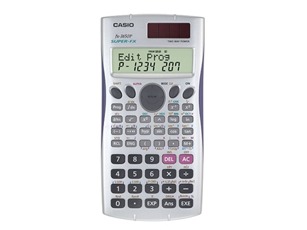 Casio Scientific Calculator FX-3650P 10 Digits