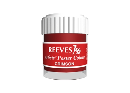 Reeves Poster Color 485425 Crimson 22ml