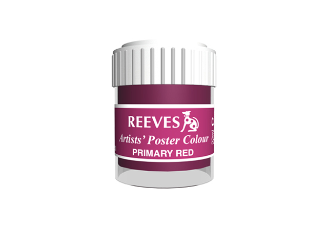 Reeves Poster Color 4854260 Primary Red 22ml