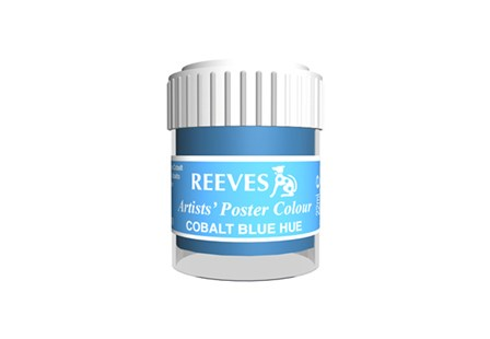 Reeves Poster Color 4854370 Cobalt Blue 22ml