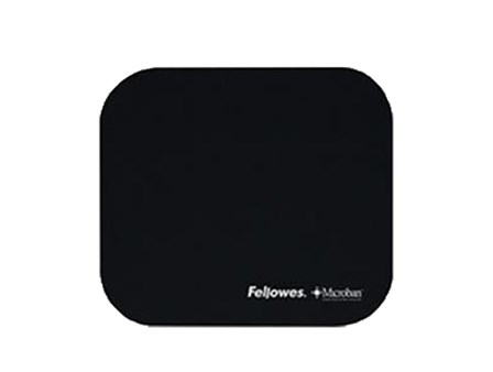 Fellowes Mouse Pad 5933907 w/Microban Black