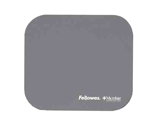 Fellowes Mouse Pad 5934005 w/Microban Gray