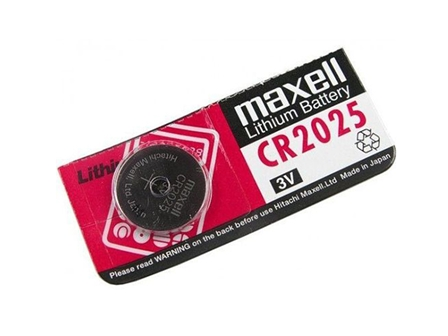 Maxell Battery Lithium Coin CR2025 Silver