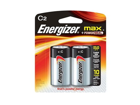 Energizer Battery C LR14 Black 2 pcs per pack