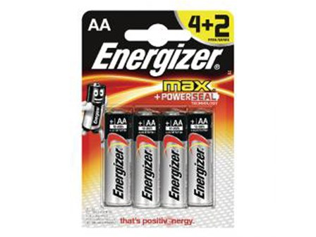 Energizer Battery E91 AA Black