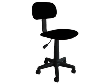 Secretarial Chair STM-1001W-X Black