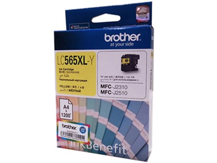 Brother Ink Cartridge LC-565XL High Yield Yellow
